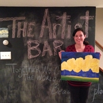 The Artist Bar.com paint and sip private party